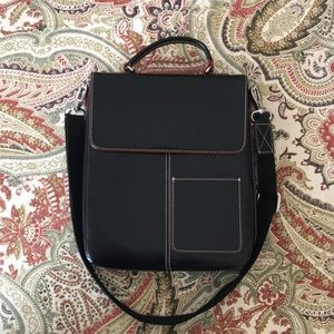 Lodis Leather Crossbody Bag